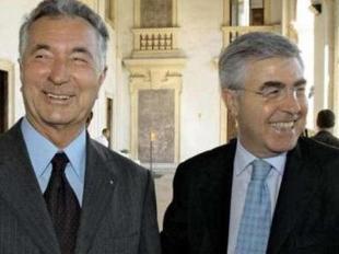 Gianni Zonin e Vincenzo Consoli (archivio)