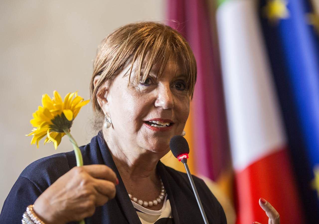 Adriana Musella, presidente dell'associazione Gerbera Gialla