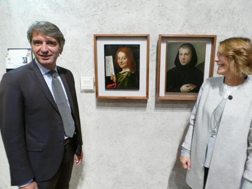 Il sindaco di Verona Federico Sboarina con la moglie (archivio)