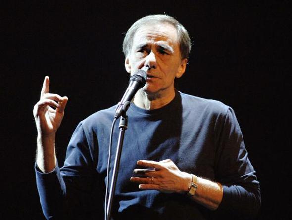 Il cantante Roberto Vecchioni