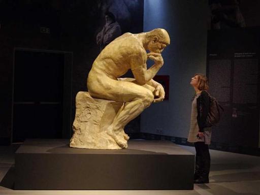 Il pensatore in mostra a Treviso